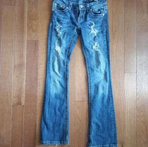 Distressed Miss Me Jeans Size 26